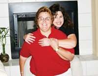 Shari Wilson and Teresa Hiatt made a little history on Feb. 12 - when they received a marriage license in Pima County.