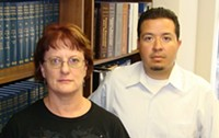 MARI HERRERAS - The Arizona Center for Disability Law's JoAnn Sheperd and J.J. Rico are prepared to file another lawsuit against the DES if the state moves to cut early-intervention funding.