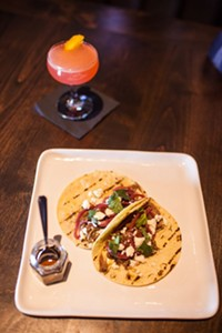 J.D. FITZGERALD - The short rib tacos at Nox.
