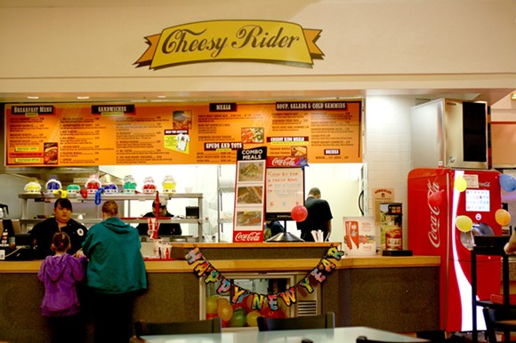 This unique mall eatery is no more. - HEATHER HOCH