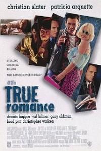 True Romance starring Patricia Arquette, Christian Slater, Dennis Hopper