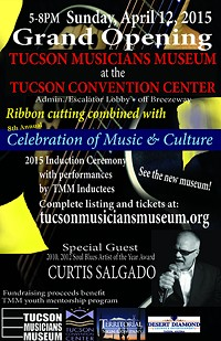 Tucson Musicians Museum now at Tucson Convention Center