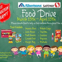Tucson's Salvation Army Starts Food Drive to Feed Kids for Summer Program