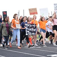 Our Future is Marching: Local Students Call for an End to Gun Violence