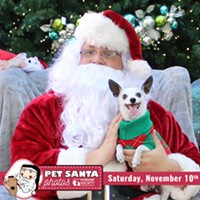 Deck the Paws: Pet Photos with Santa Saturday