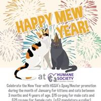 HSSA Spay/Neuter Clinic's Happy Mew Year