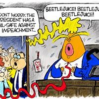 Claytoon of the Day: Impeach! Impeach! Impeach!