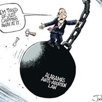 Afternoon Cartoon: Alabama Law