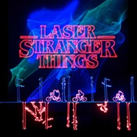 Laser Stranger Things at the Flandrau Planetarium