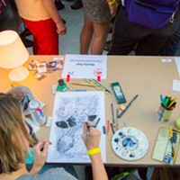 MOCA Monster Drawing Rally Benefit