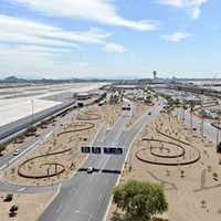 Phoenix Sky Harbor switches to desert landscape to save water, money