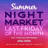 Summer Night Market at the Annex