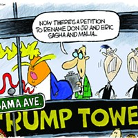 Claytoon of the Day: Meanwhile, On Obama Avenue