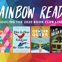 A new year, a new Rainbow Reads lineup!