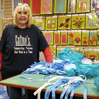 Cathey's Sewing & Vacuum volunteers create 35,000 masks for first responders