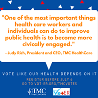 Tucson Medical Center launches campaign encouraging voter participation