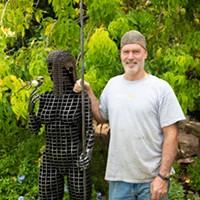 "Last Week To See ""Stolen"" Sculpture at Hacienda del Sol"