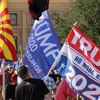 Trump lawsuit targets Maricopa vote count, as gap with Biden narrows
