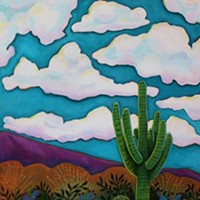 Cactus and Clouds