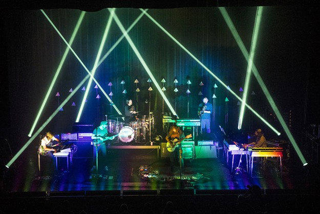 The War on Drugs played the Rialto Theater on April 17. - C. ELLIOTT PHOTOGRAPHY