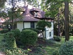 The house in Ithaca, New York, where Vladimir Nabokov lived with his family in 1947 and 1953 while working on his novel Lolita. - ALEXEENKO