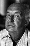 Vladimir Nabokov in Montreux, 1973 - COURTESY