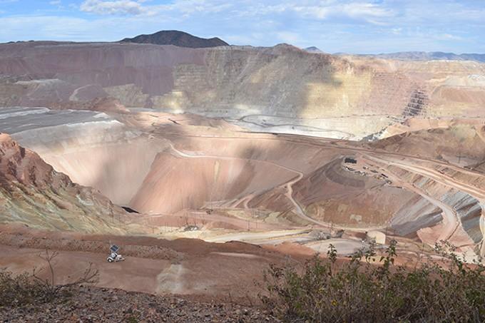 The open pit Moremci mine - DANYELLE KHMARA