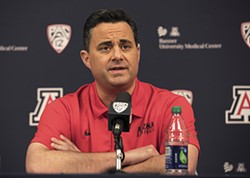 Sean Miller and the Arizona Wildcats will play in the Maui Invitational this November, against teams like Iowa State, Gonzaga, Duke, Xavier and San Diego State. - SIMON ASHER