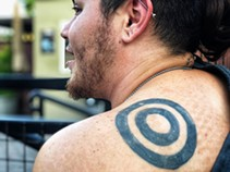 A Cain tattoo, circles of life. - BRIAN SMITH
