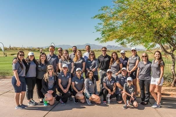 2018 Pima Federal Golf Classic volunteer staff at the Golf Club at Dove Mountain. - COURTESY PHOTO