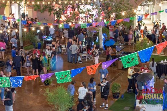 2018 Salsa, Tequila & Taco Challenge at La Encantada - COURTESY SAACA