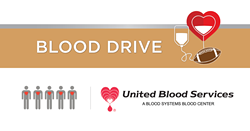 On Saturday, Sept. 8, there will be a football-themed Community Blood Drive at Arizona Oral  & Maxillofacial Surgeons. Just one donation can save three lives. - UNITED STATES BLOOD SERVICES