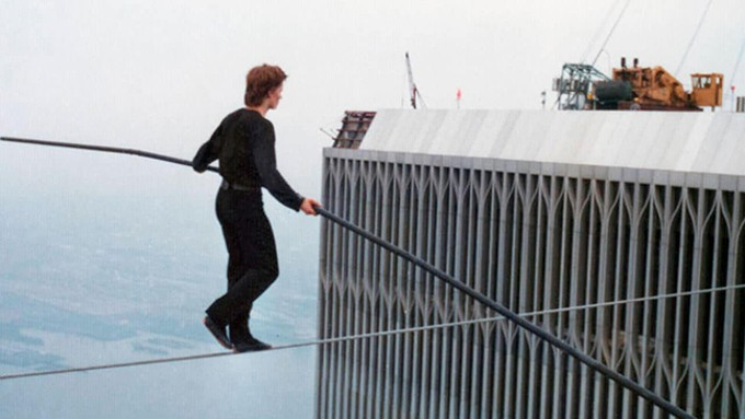 Man on Wire. - COURTESY