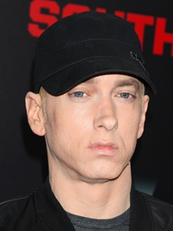 """Eminem's new album 'Kamikaze' is on track to break records and """"Lucky You"""" is his first No. 1 debut on Streaming Songs chart. - COURTESY"""