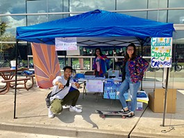 NextGen organizers were registering young people to vote on 20 college campuses across the state, including at Northern Arizona University. - COURTESY NEXTGEN ARIZONA