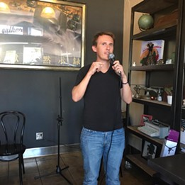 Rory Monserrat has a favorite thing at CANS DELI Oct. 16. - FACEBOOK.COM/RORY.MONSERAT.7