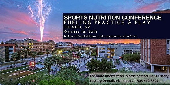 THE DEPARTMENT OF NUTRITIONAL SCIENCES- UNIVERSITY OF ARIZONA