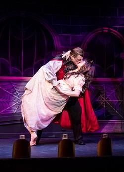 The Gaslight Theatre's Vampire closes November 1. - THEGASLIGHTTHEATRE.COM