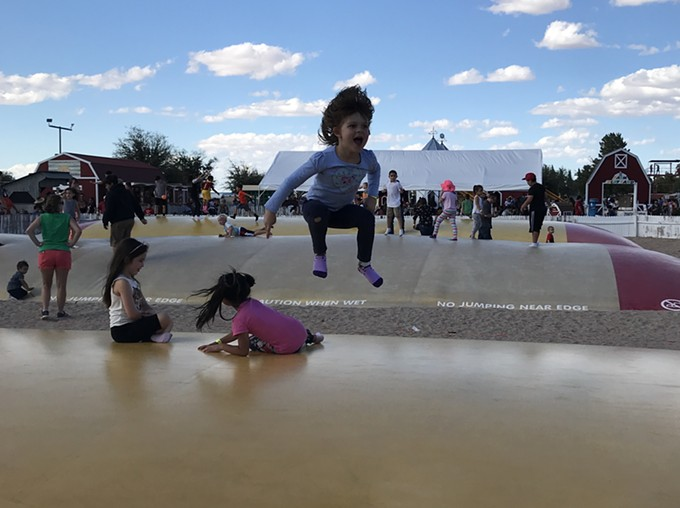 Weekly Executive Editor Jim Nintzel took his family to the Marana Pumpkin Patch for a day filled with fun. - JIM NINTZEL