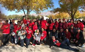 """""""Team Felipe"""" first participated in the Liver Life Walk in 2015, after Felipe De Jesus Celis Ruiz's liver transplant. After passing away from liver failure on Sat., May 26, 2018, Felipe's legacy will continue. - LIVE LIFE WALK"""