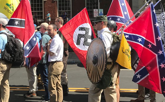 "CHARLOTTESVILLE ""UNITE THE RIGHT"" RALLY. COURTESY OF WIKIMEDIA"