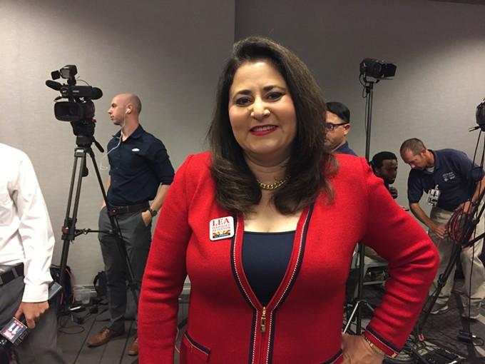 Lea Marquez Peterson concedes CD2 to Ann Kirkpatrick. - DANYELLE KHMARA