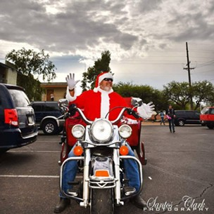 The Red Sleigh Toy Run delivers toys to the doors of children and their families on motorcycles. - FACEBOOK