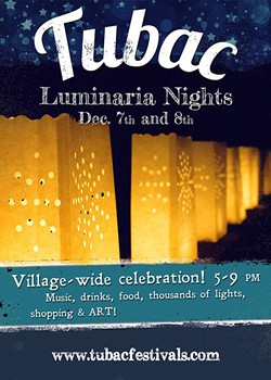 Tubac Luminaria - COURTESY