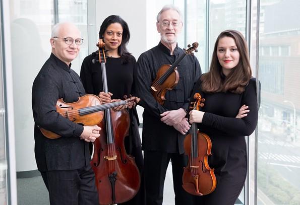The Juilliard String Quartet - CLAUDIO PAPAPIETRO