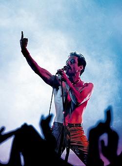 Rami Malek's portrayal of Queen frontman Freddy Mercury in Bohemian Rhapsody. - COURTESY PHOTO