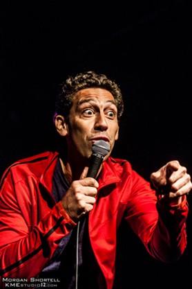 Bill Santiago presents his comedy set, The Immaculate Big Bang, as part of the Tucson Fringe Fest 2019, Jan. 10 through 13. - MORGAN SHORTELL, KMESTUDIO12.COM