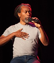Bobby McFerrin, who performs Sunday, Jan. 20 at the Fox Theatre.