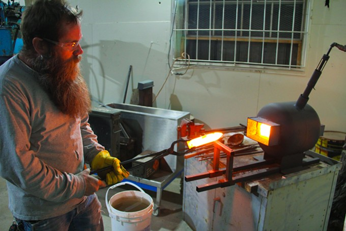 Desert Metal Craft Blacksmith School Opens Feb. 2