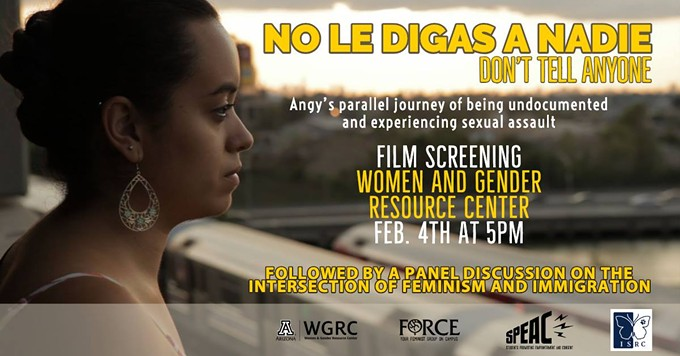 COURTESY OF NO LE DIGAS A NADIE/DON'T TELL ANYONE - FILM SCREENING FACEBOOK EVENT PAGE